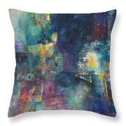 Under The Influence Throw Pillow