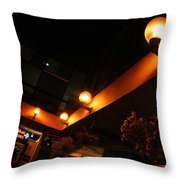 Under The Lights Of Old Colorado City Throw Pillow