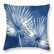 Under The Palms- Art By Linda Woods Throw Pillow