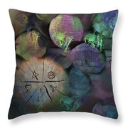Under The Rubble Throw Pillow