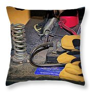 Under The Seat Throw Pillow