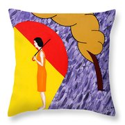 Under The Shelter Of Your Love Throw Pillow
