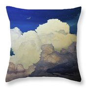 Under The Southern Cross Throw Pillow