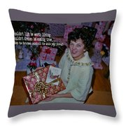 Under The Tree Quote Throw Pillow