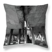 Under The Viaduct A Urban View Throw Pillow