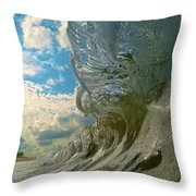 Under Venice Skies Throw Pillow