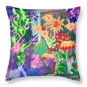 Under Water Throw Pillow