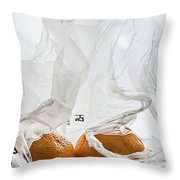 Under Wraps IIi  Throw Pillow