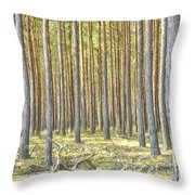 Underbrush. Throw Pillow