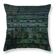 Undercurrent Throw Pillow