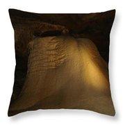 Underground Angle Test Throw Pillow