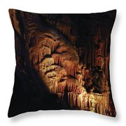 Underground Cathedral Throw Pillow