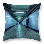 Underground Inhabitants Throw Pillow