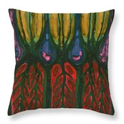 Underground Life Throw Pillow