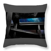 Los Angeles Underpass Throw Pillow