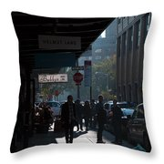 Underpassage Throw Pillow by Joanna Madloch