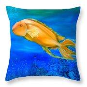 Undersea Journey Throw Pillow