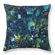 'underwater Chaos' Throw Pillow