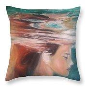 Underwater Dream  Throw Pillow