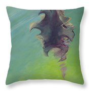 Underwater Glow Throw Pillow