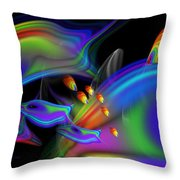 Underwater View 2 Throw Pillow