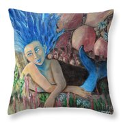 Underwater Wondering Throw Pillow