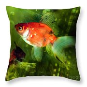 Underwater World Throw Pillow