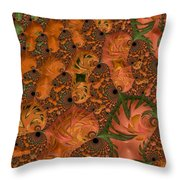 Underwater World - Series #40 Throw Pillow