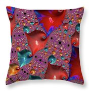 Underwater World - Series Number 33 Throw Pillow