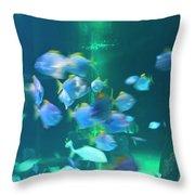 Underwater05 Throw Pillow