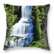 Undine Falls Throw Pillow