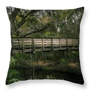 Undisturbed By Time Throw Pillow