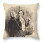 Une Maitresse A L'op?ra Throw Pillow
