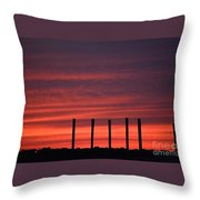 Unearthly Throw Pillow by Stephanie  Varner