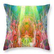 Unelanuhi-sungoddess Throw Pillow