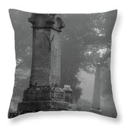 Uneven After Time Throw Pillow