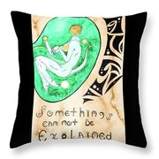Unexpained Throw Pillow