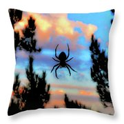 Unexpected Beauty Throw Pillow