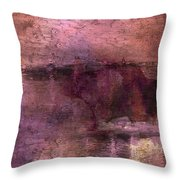 Unexpected Flight Into The Past Throw Pillow