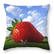 Unexpected Growth Throw Pillow