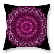 Unexpected In Pink No. 2 Throw Pillow