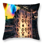 Unexpected Test Results Throw Pillow