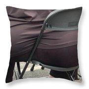 Unfair To Chair Throw Pillow