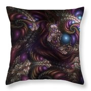 Unfathomable Syncretism Throw Pillow