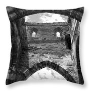 Unfinished Church Throw Pillow