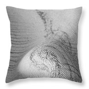 Unfolding And Enfolding -- Vi Throw Pillow
