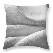 Unfolding And Enfolding - IIi Throw Pillow