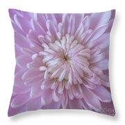 Unfolding Beauty Throw Pillow