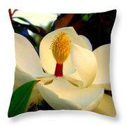Unfolding Beauty Throw Pillow
