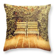 Unfulfilled Throw Pillow